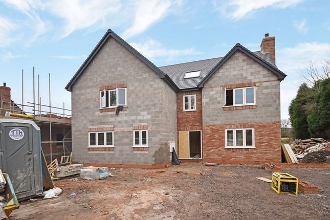 Thumbnail Detached house for sale in Plot A White Row, Horton, Telford