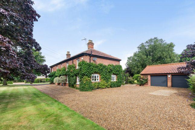 Thumbnail Detached house for sale in Bramerton Lane, Framingham Pigot, Norwich