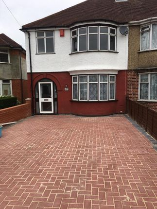 Thumbnail Semi-detached house to rent in Stansfiels Road, Hounslow