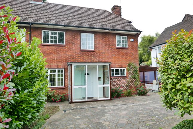 Thumbnail Semi-detached house to rent in Downlands Way, Epsom Downs