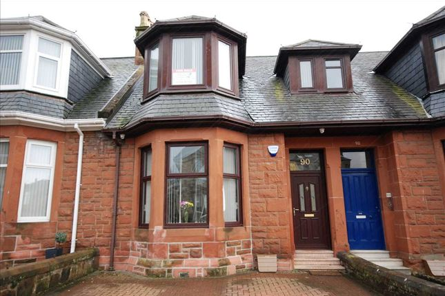 Thumbnail Terraced house for sale in Argyle Road, Saltcoats