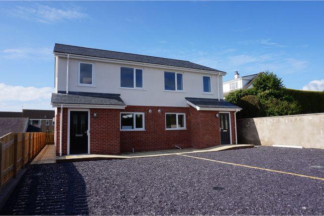 Thumbnail Semi-detached house for sale in Ffordd Penmynydd, Llanfairpwllgwyngyll