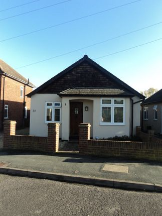 Thumbnail Bungalow to rent in Clarence Street, Egham, Surrey