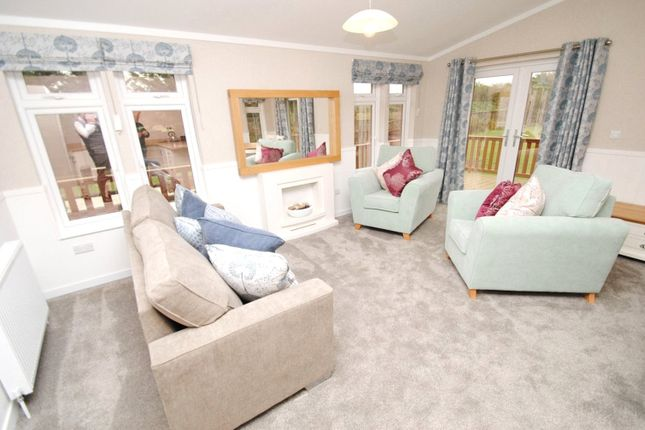 Thumbnail Detached bungalow for sale in Southside Lodge, St. Marys Lane, North Ockendon, Upminster