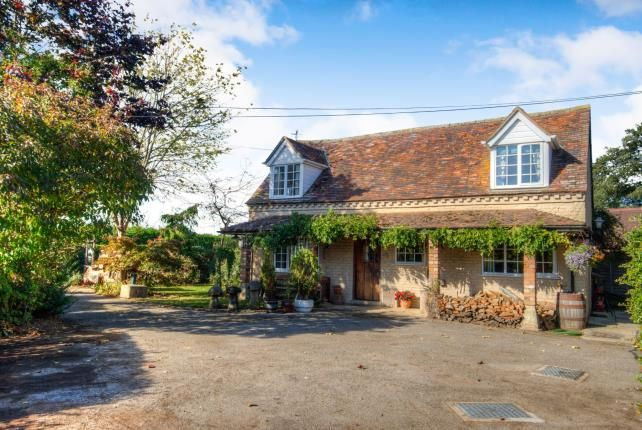 Thumbnail Detached house for sale in Badsey Fields Lane, Badsey, Evesham, Worcestershire