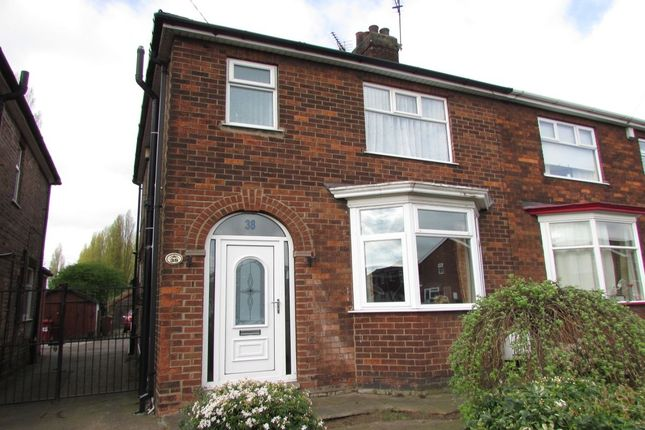 Thumbnail Semi-detached house for sale in Kenilworth Road, Scunthorpe