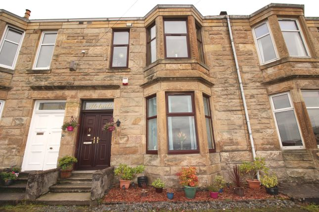 Thumbnail Terraced house for sale in Barrs Brae, Port Glasgow