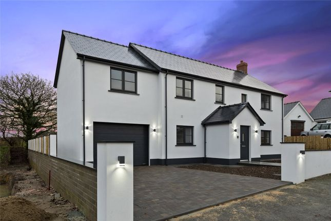 Thumbnail Detached house for sale in Poplar Meadow, Freystrop, Haverfordwest