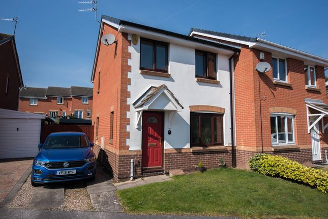 Thumbnail Semi-detached house to rent in Beeston Close, Bestwood Village, Nottingham