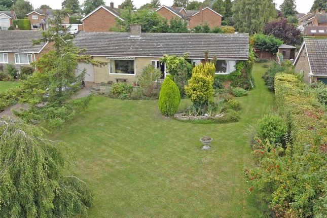 Thumbnail Detached bungalow for sale in Glenfield Drive, Great Doddington, Wellingborough