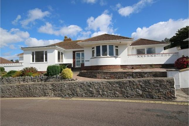 Thumbnail Detached bungalow for sale in Rock End Avenue, Torquay