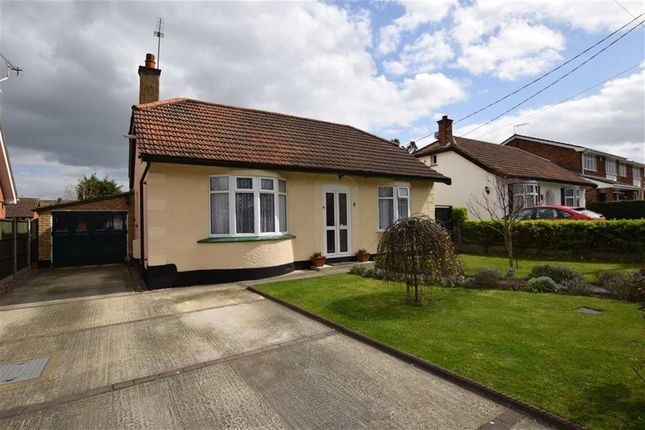 Thumbnail Detached bungalow for sale in Chamberlain Avenue, Old Corringham, Essex
