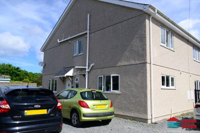 Thumbnail Semi-detached house for sale in Cefn Llwyn, Lon Pen Rhos, Morfa Nefyn, Pwllheli