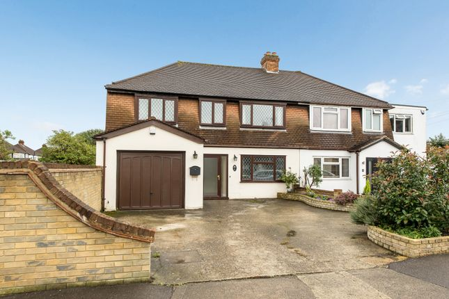 Thumbnail Semi-detached house for sale in Ashcroft Road, Chessington