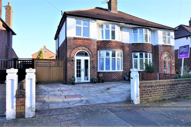 Thumbnail Semi-detached house for sale in Parkville Road, Manchester