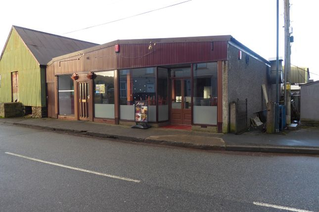Thumbnail Restaurant/cafe for sale in Station Road, Tregaron
