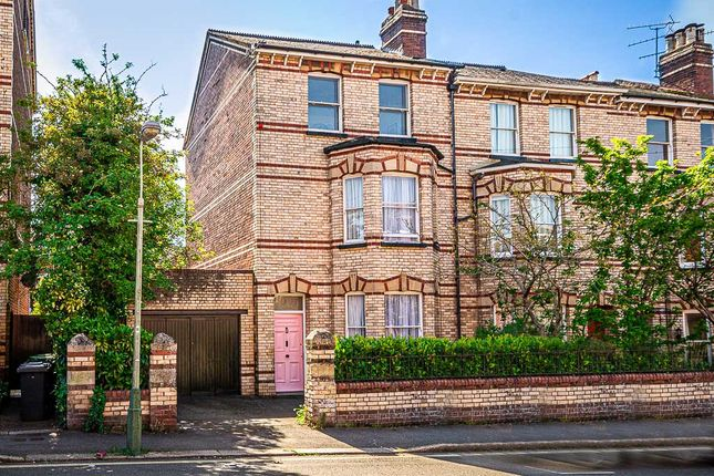Thumbnail End terrace house for sale in College Road, St. Leonards, Exeter