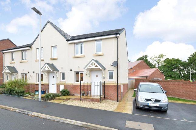 Thumbnail End terrace house for sale in Cowslip Crescent, Newton Abbot, Devon