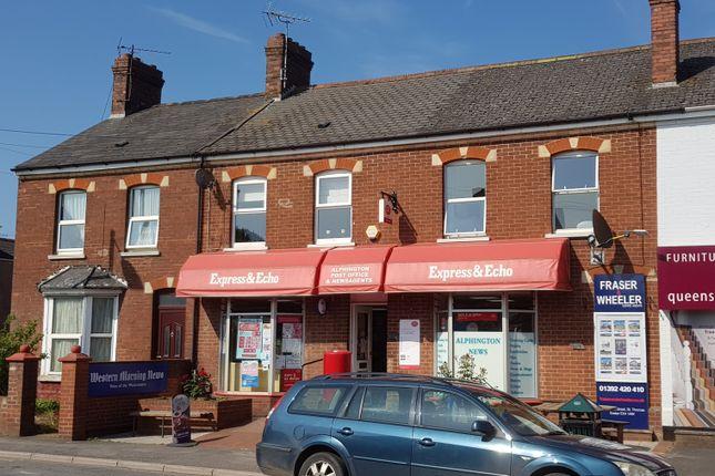 Thumbnail Retail premises for sale in Church Road, Alphington, Exeter