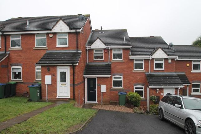 Thumbnail Terraced house to rent in Allsops Close, Rowley Regis
