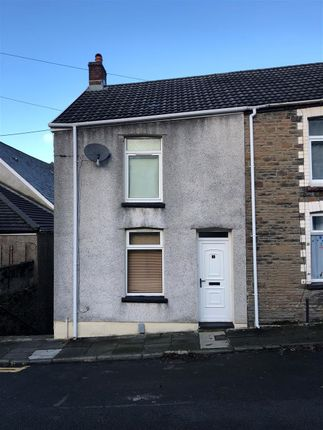 Thumbnail End terrace house to rent in Madoc Street, Graig, Pontypridd