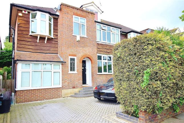 Thumbnail Semi-detached house for sale in Combemartin Road, Southfields, London