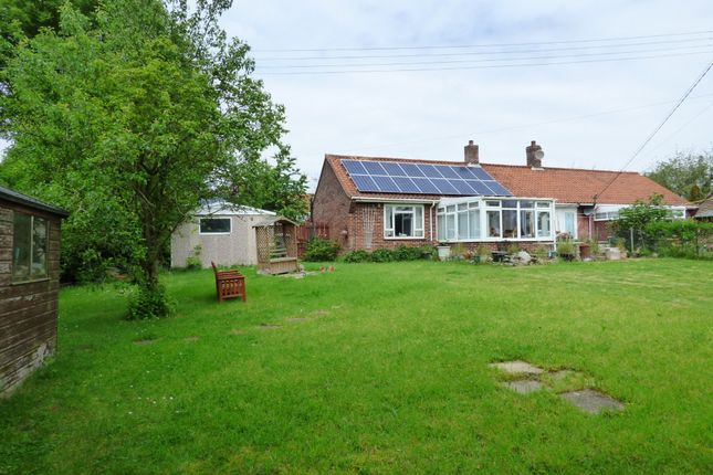 Thumbnail Semi-detached bungalow for sale in St. Michaels View, Flordon, Norwich