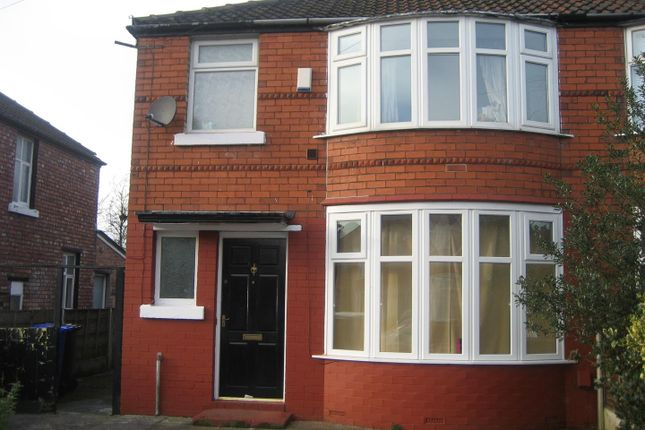Thumbnail Semi-detached house for sale in Leighbrook Road, Fallowfield, Manchester