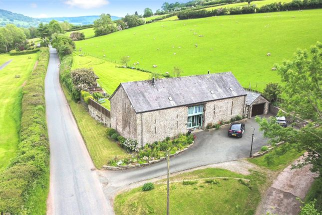 Thumbnail Barn conversion for sale in Pencelli, Brecon, Powys