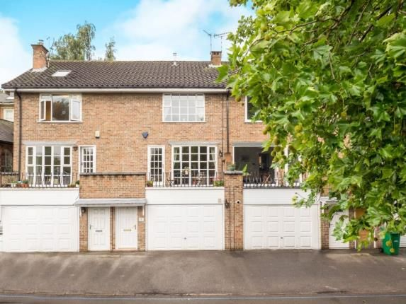Thumbnail Town house for sale in Fiennes Crescent, Nottingham, Nottinghamshire