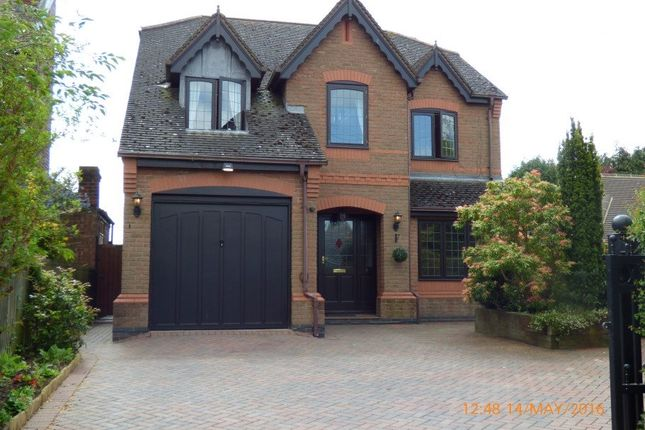 Thumbnail Detached house to rent in Francis Lane, Newton Burgoland, Leicestershire