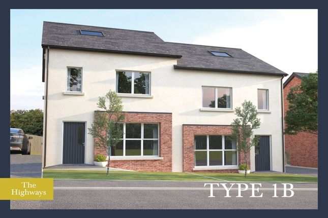 Thumbnail Semi-detached house for sale in The Highways Ballyhampton Road, Larne