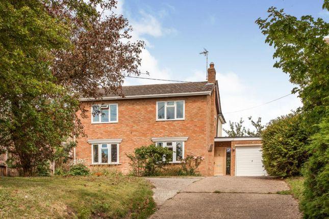Thumbnail Detached house for sale in West Wickham, Cambridge, Cambridgeshire