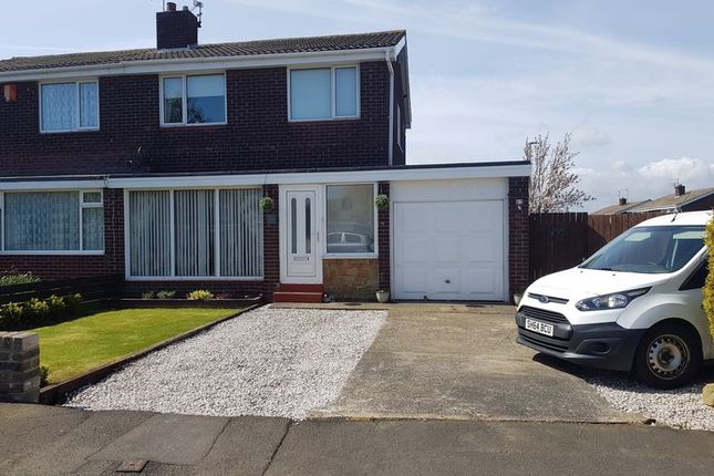 Thumbnail Semi-detached house for sale in Pembroke Gardens, Ashington