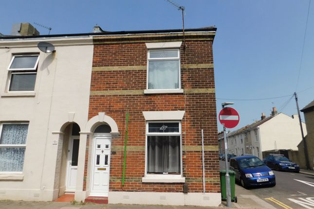 Thumbnail End terrace house to rent in Brookfield Road, Portsmouth