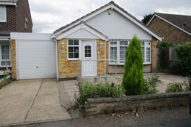 Thumbnail Bungalow for sale in Coles Close, Leicester