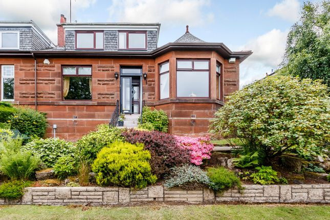 Thumbnail Semi-detached bungalow for sale in Ormonde Drive, Netherlee, Glasgow