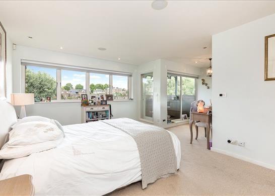 Master Bedroom of Ducks Walk, East Twickenham TW1