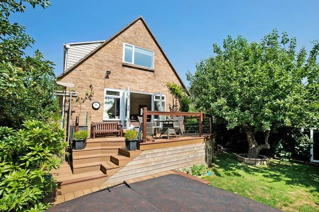 Thumbnail Detached house for sale in Scott Drive, Exmouth