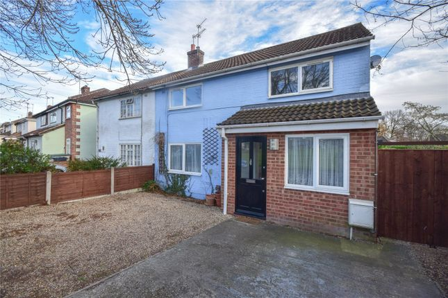 Thumbnail Semi-detached house to rent in Mary Park Gardens, Bishop's Stortford