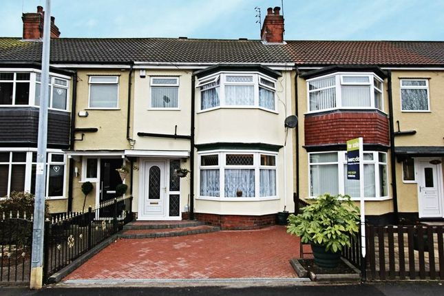 Thumbnail Terraced house for sale in Etherington Road, Hull
