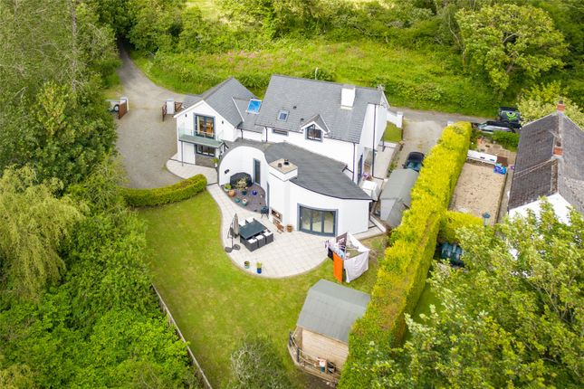 Thumbnail Detached house for sale in The Cwtch, Pill Road, Hook