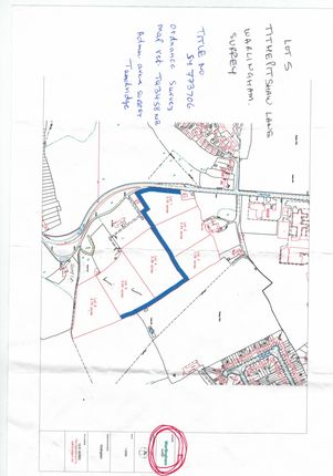 Thumbnail Land for sale in Tithepit Shaw Lane, Warlingham