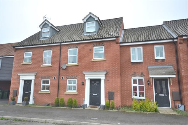 Thumbnail Terraced house for sale in Fred Ackland Drive, King's Lynn
