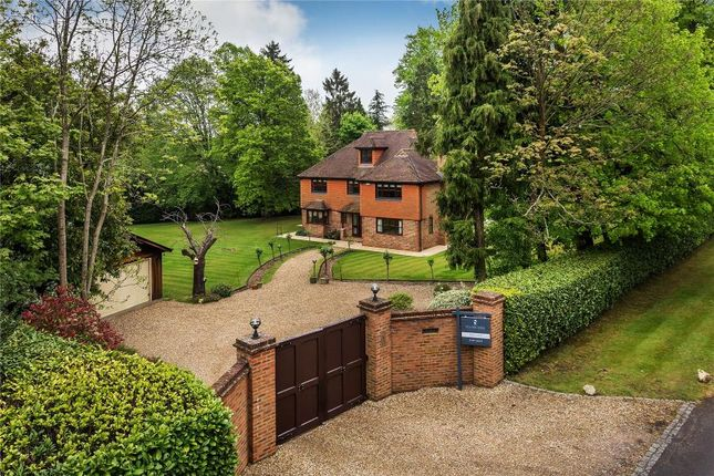 Thumbnail Detached house to rent in Pyle Hill, Woking