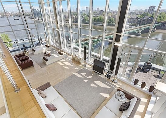 Thumbnail Property to rent in Waterside Tower, The Boulevard, London