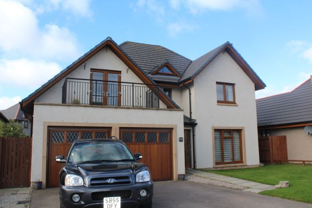 Thumbnail Detached house to rent in Stuart Crescent, Kemnay