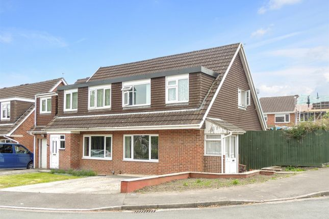 Thumbnail Semi-detached house for sale in Firework Close, Warmley, Bristol