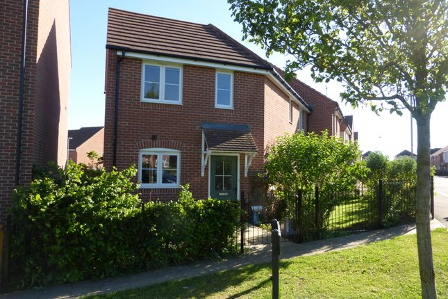 Thumbnail Semi-detached house to rent in Colbred Walk, Augusta Park, Andover