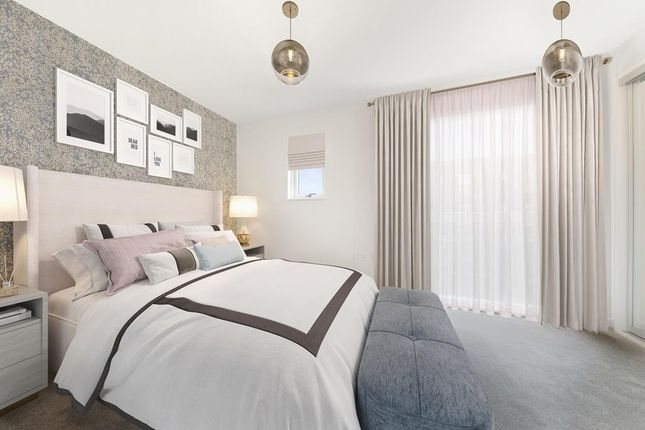 """Bedroom of """"No.10 Poppy Mews"""" at Bittacy Hill, London NW7"""